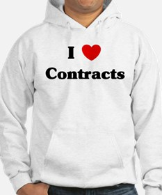 I Love Contracts Hoodie