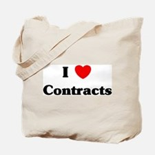 I Love Contracts Tote Bag