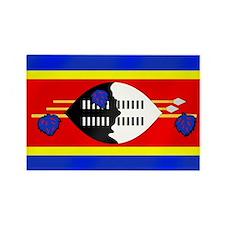 Flag of Swaziland Rectangle Magnet