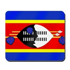 Flag of Swaziland Mousepad