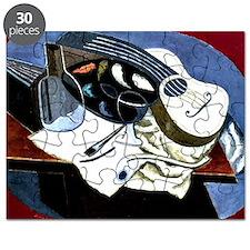 Gris - Painter's Table; Juan Gris artwork Puzzle