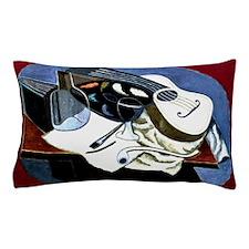 Gris - Painter's Table; Juan Gris artw Pillow Case