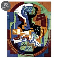 Juan Gris - Compotier and Playing Cards Puzzle
