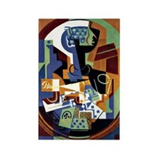 Juan Gris - Compotier and Playing Rectangle Magnet
