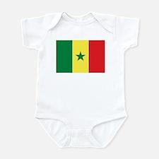 Flag of Senegal Infant Bodysuit