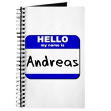 hello my name is andreas Journal