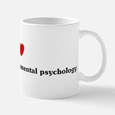 I Love Evolutionary developme Mug