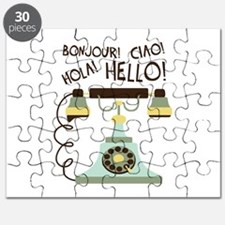 Bonjour! Ciao! Hola! Hello! Puzzle