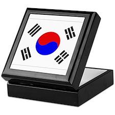 Korean Flag Keepsake Box