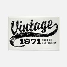 Vintage 1971 Rectangle Magnet