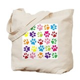 Paw prints Totes & Shopping Bags