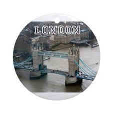 Tower of London Pro Photo Ornament (Round)