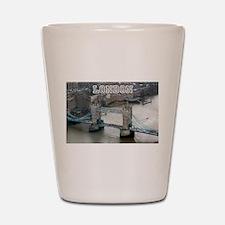 Tower of London Pro Photo Shot Glass