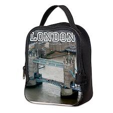 008654 Tower Bridge London Neoprene Lunch Bag