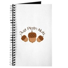 Just Plain Nuts Journal