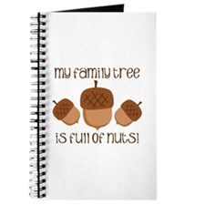 My Family Tree Is Full Of Nuts Journal