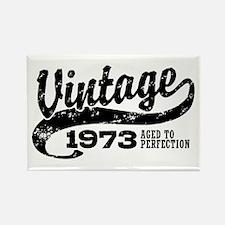 Vintage 1973 Rectangle Magnet