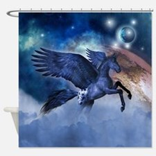 Little Pegasus Shower Curtain