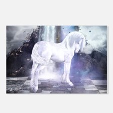 Silver Unicorn Postcards (Package of 8)