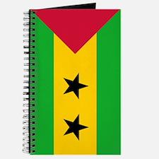Sao Tome Principe Flag Journal