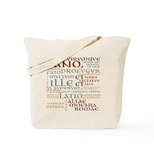 Vergil Ancient Colors Tote Bag