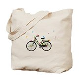 Vintage bicycle Canvas Totes