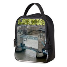 008654 Tower Bridge London 2 Neoprene Lunch Bag
