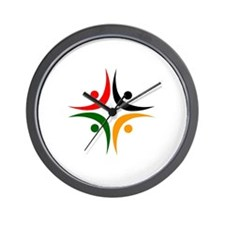 Amici Logo 1 Wall Clock