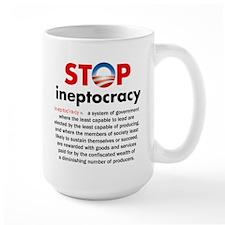 Stop Obama's Ineptocracy Mugs