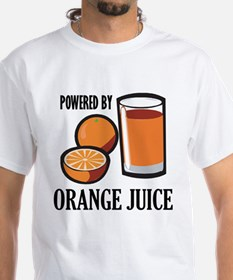 Powered By Orange Juice Shirt