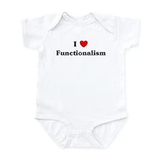I Love Functionalism Infant Bodysuit