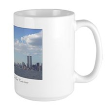 Statue of Liberty watches over N.Y.C. - Coffee Mug
