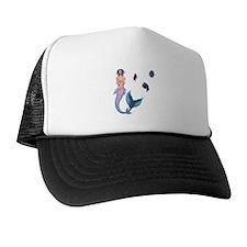 Rainbow Mermaid Trucker Hat
