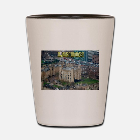 Tower of London Pro Photo Shot Glass