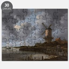 The Windmill at Wijk Puzzle