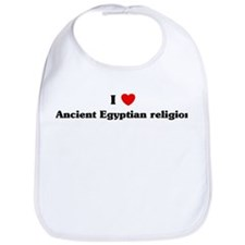 I Love Ancient Egyptian relig Bib