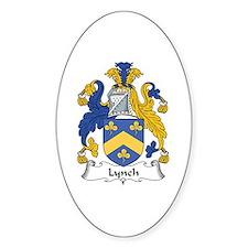 Lynch Oval Decal