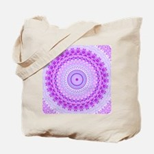 Pink and Pastels Mandala Tote Bag