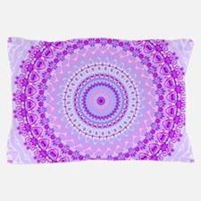 Pink and Pastels Mandala Pillow Case