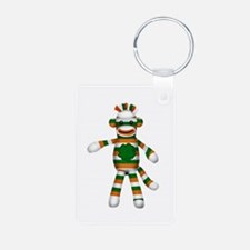 Irish Sock Monkey Keychains
