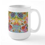 I Love You Mom Garden Delight Large Mug