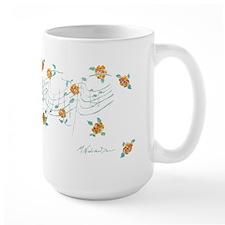 Music And Roses Mug