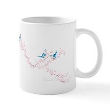 Cherry Blossom Bluebird Of Happiness Mug