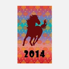 Chinese Year of the Horse Decal