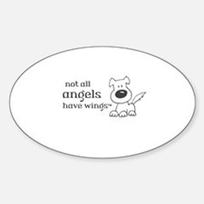 Not all angels have wings Decal