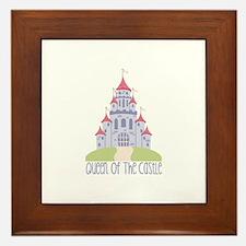 Queen Of The Castle Framed Tile