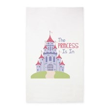 The Princess Is In 3'x5' Area Rug