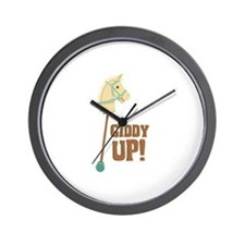 Giddy Up! Wall Clock