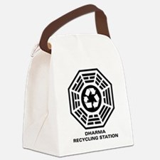 dharmarecycle-01.png Canvas Lunch Bag