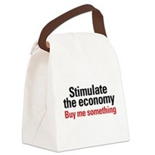 stimulate.png Canvas Lunch Bag
